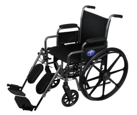 Medline K1 wheelchair, wheelchair, manual wheelchair